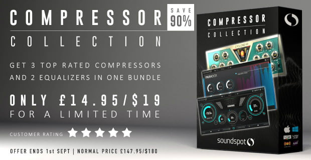 SoundSpot Compressor Bundle 90% OFF