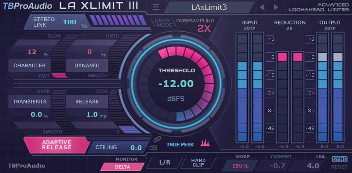 TBProAudio LA xLimit III