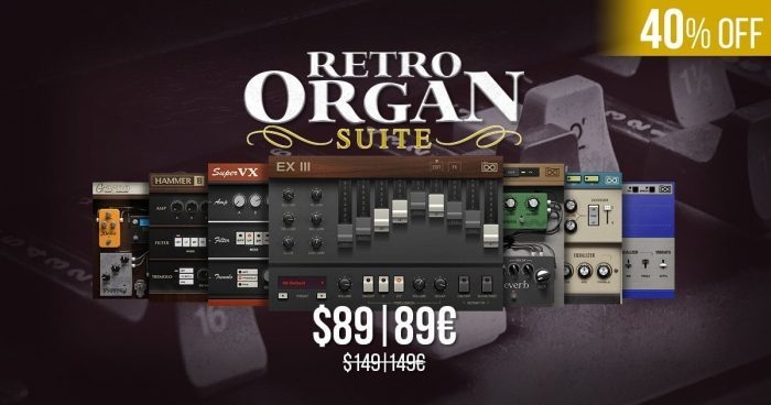 UVI Retro Organ Suite 40 OFF