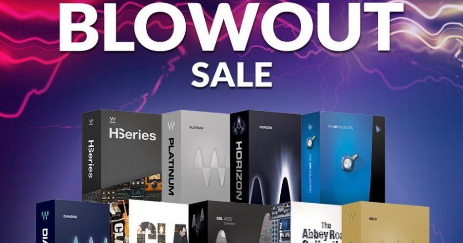 Waves Audio Bundle Blowout Sale 2019