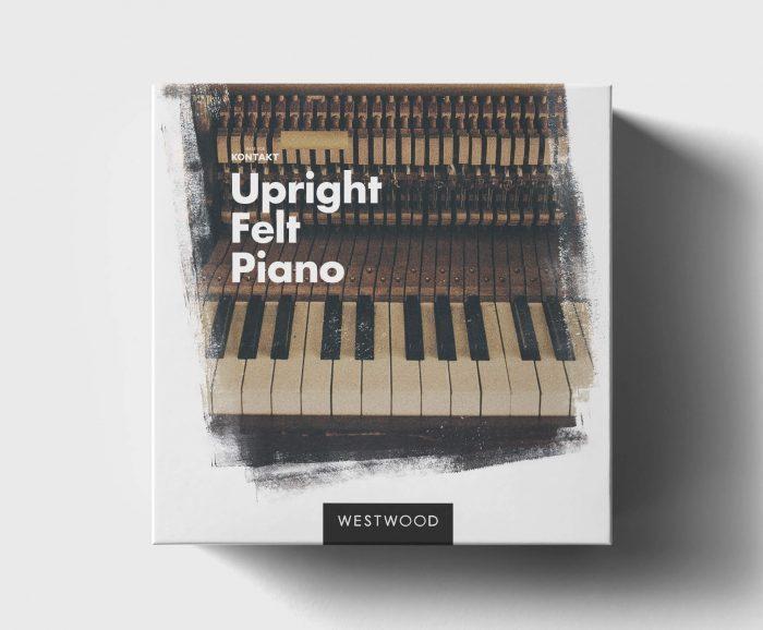 Westwood Upright Felt Piano