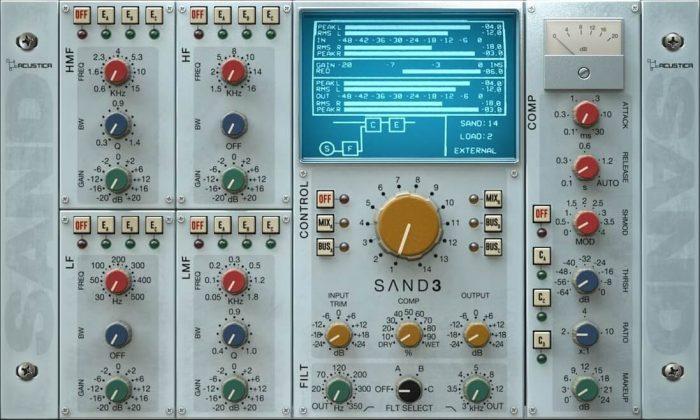Acustica Audio Sand 3 feat