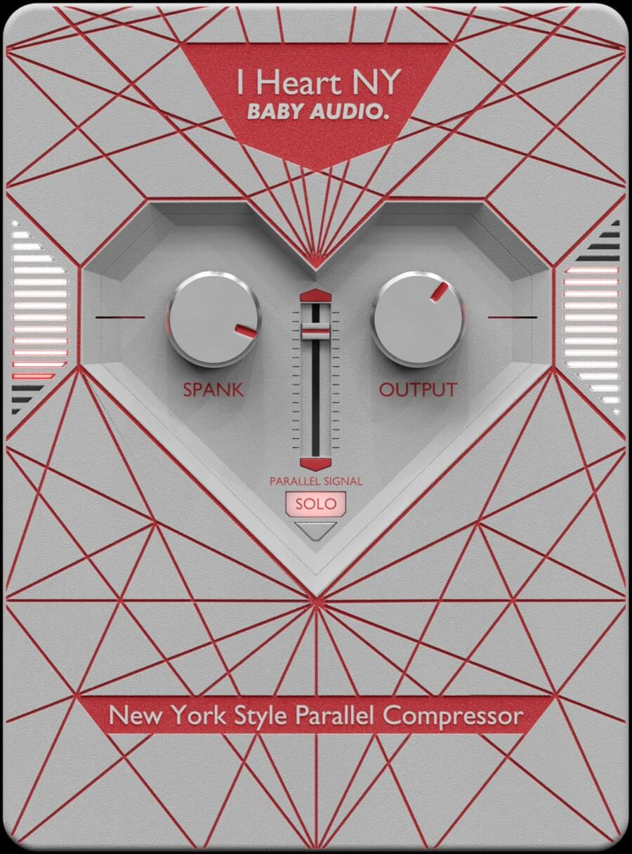 Baby Audio's I Heart NY parallel compressor is on sale for $19 USD