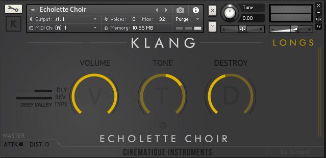 Cinematique Instruments Klang Echolette