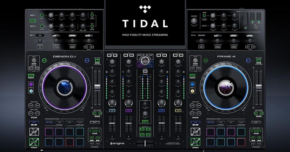 Denon DJ Prime 4 TIDAL