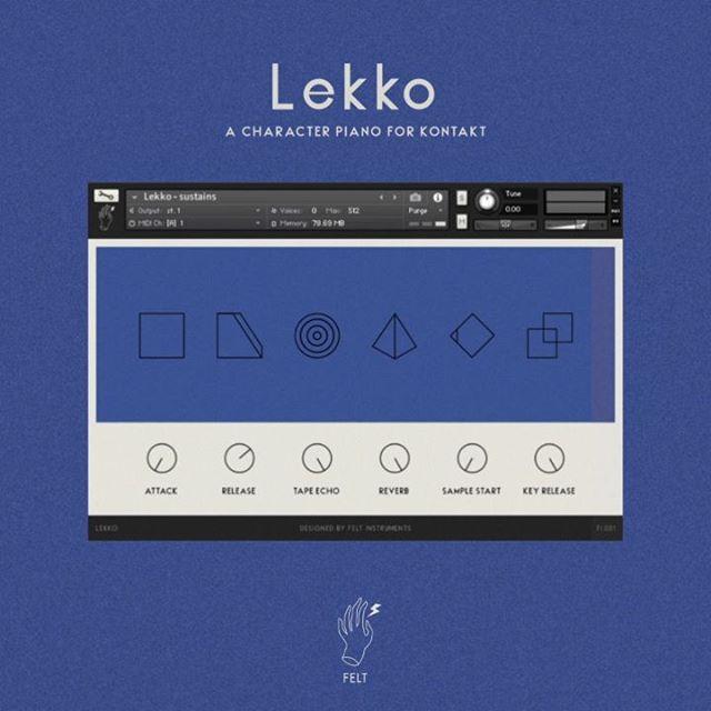 Felt Instruments updates Lekko intimate upright piano + Wolno (FREE)
