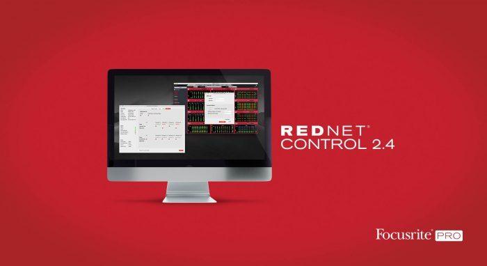FocusRite RedNetControl 2.4