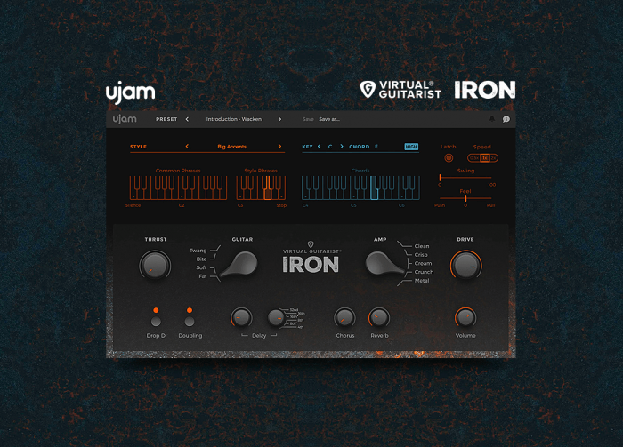 Focusrite UJAM Virtual Guitarist Iron