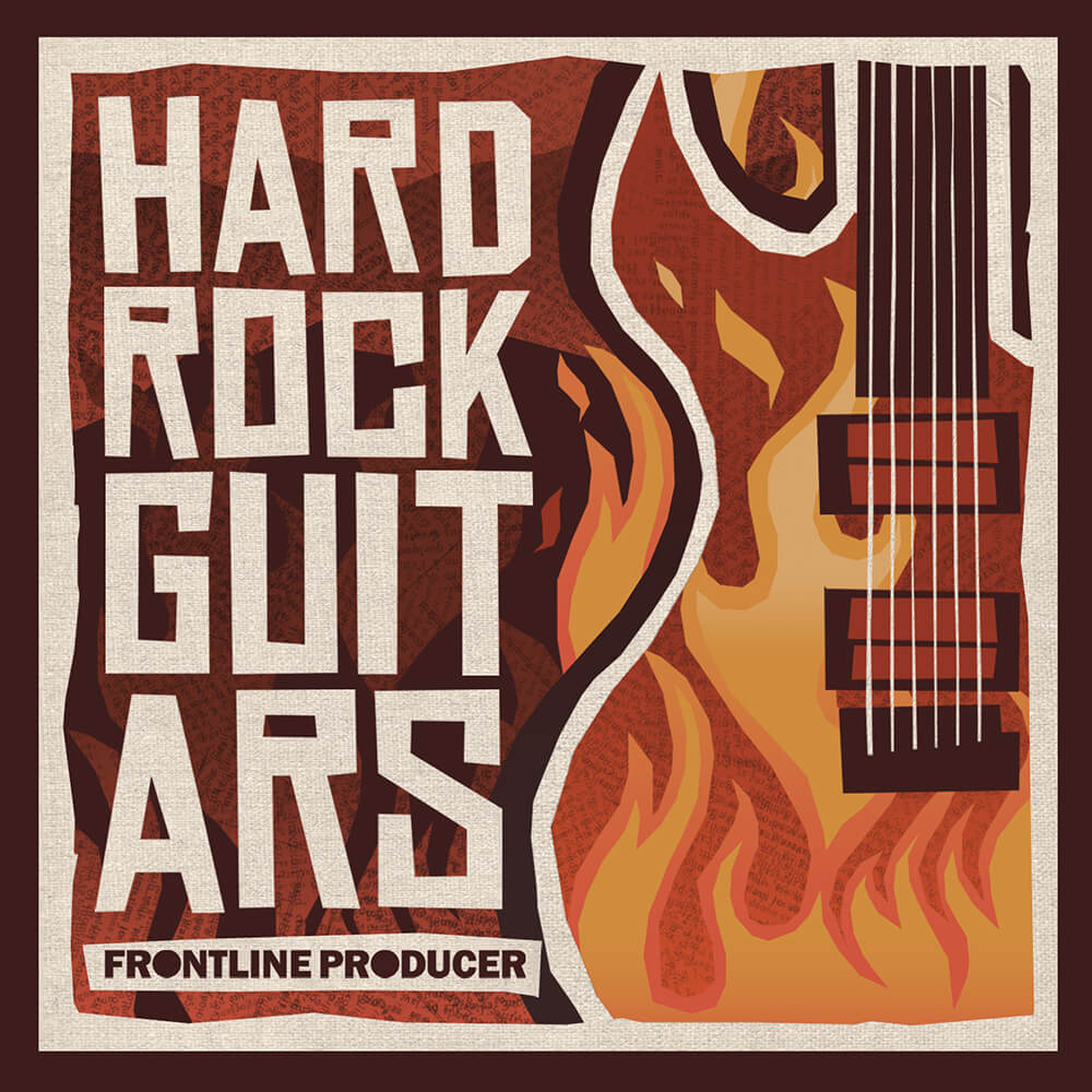 frontline producer releases hard rock guitars sample pack. Black Bedroom Furniture Sets. Home Design Ideas