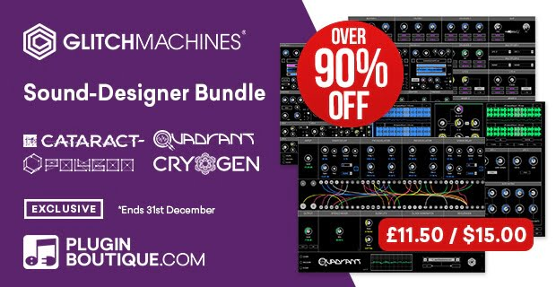Glitchmachines Sound Designer Bundle