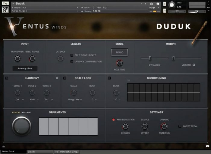 Impact Soundworks Ventus Winds Duduk