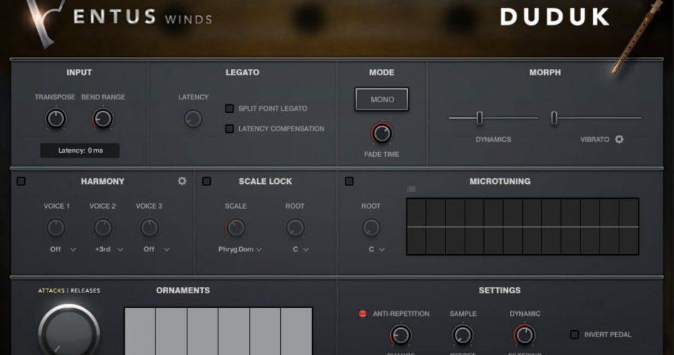 Impact Soundworks Ventus Winds Duduk