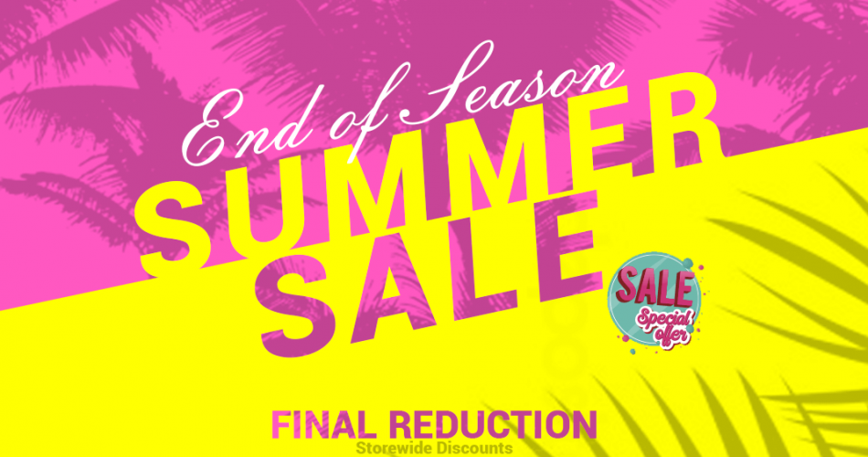 Initial Audio End of Summer Sale