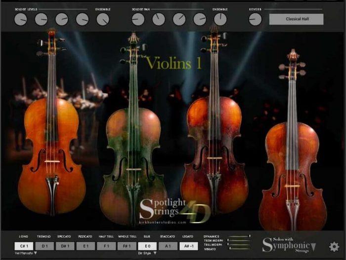 Kirk Hunter Studios Spotlight Strings 4D