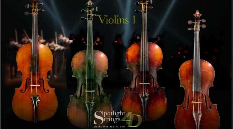 Kirk Hunter Studios Spotlight Strings 4D
