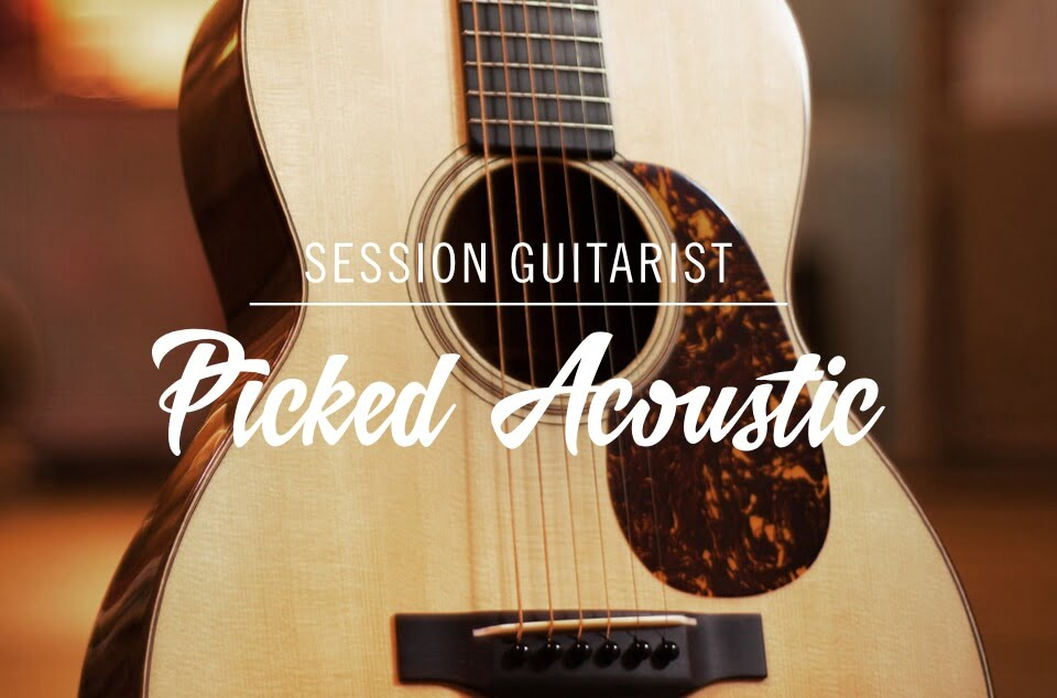 Native Instruments releases Picked Acoustic virtual guitar instrument