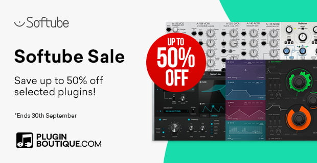 Softube 50 OFF Sale