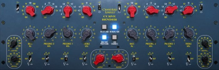 Softube Chandler Limited Curve Bender Mastering EQ plugin