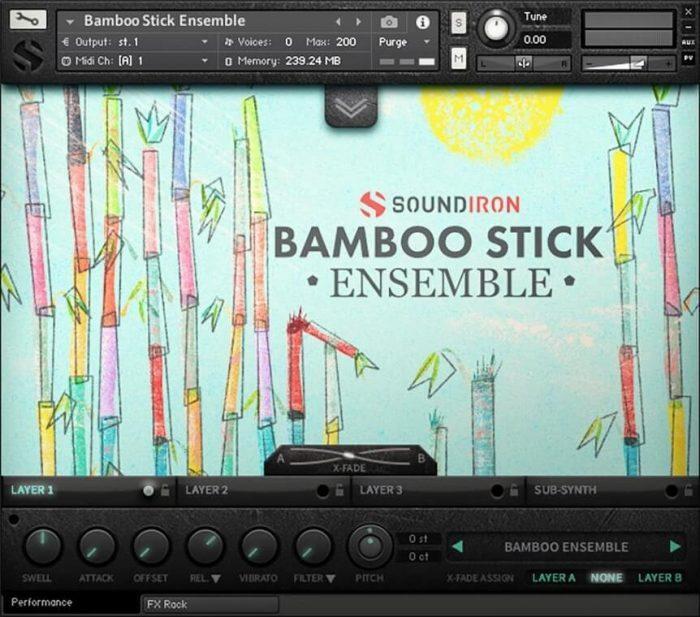 Soundiron Bamboo Stick Ensemble
