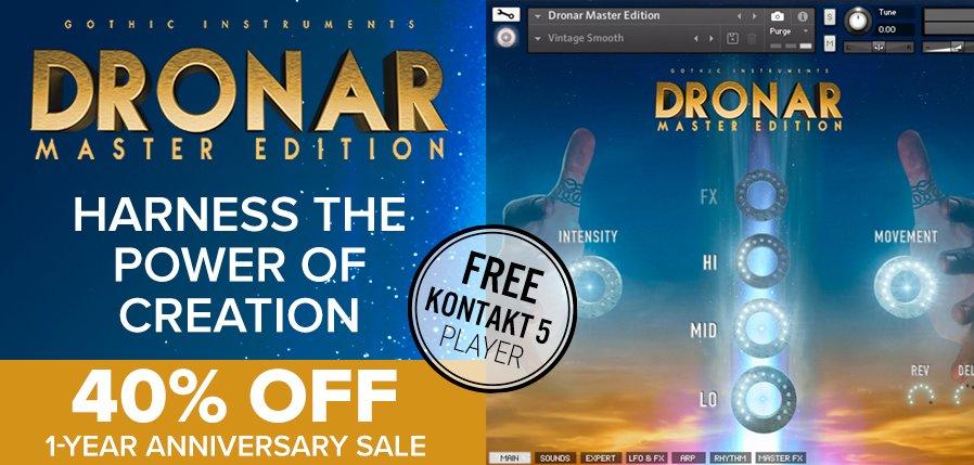 TimeSpace Dronar Master Edition Anniversary