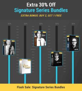 Waves Flash Sale Signature Series Bundles