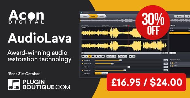 Acon Digital AudioLava 30 OFF