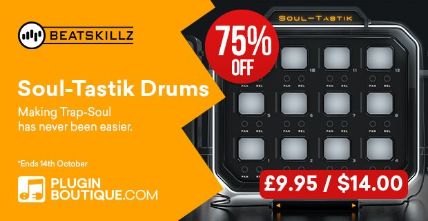 Beatskillz Soultastik Drums 75% OFF