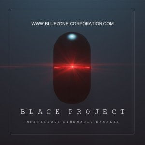 Bluezone Black Project Mysterious Cinematic Samples