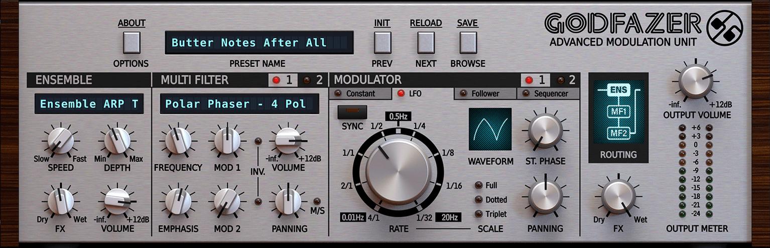 D16 Group announces Godfazer modulation effect plugin
