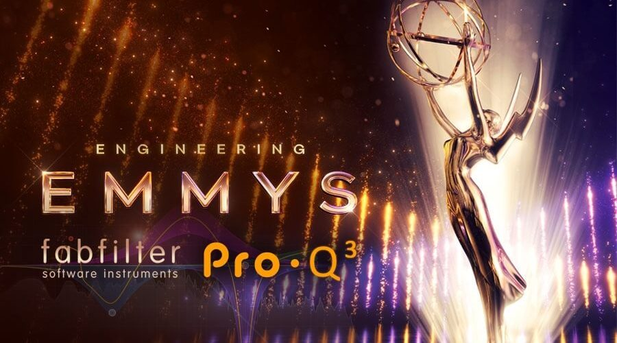 FabFilter Pro Q 3 Engineering Emmy Awards