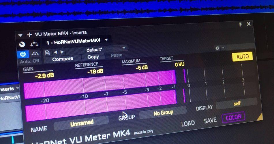 HoRNet Plugins VU Meter MK4 feat