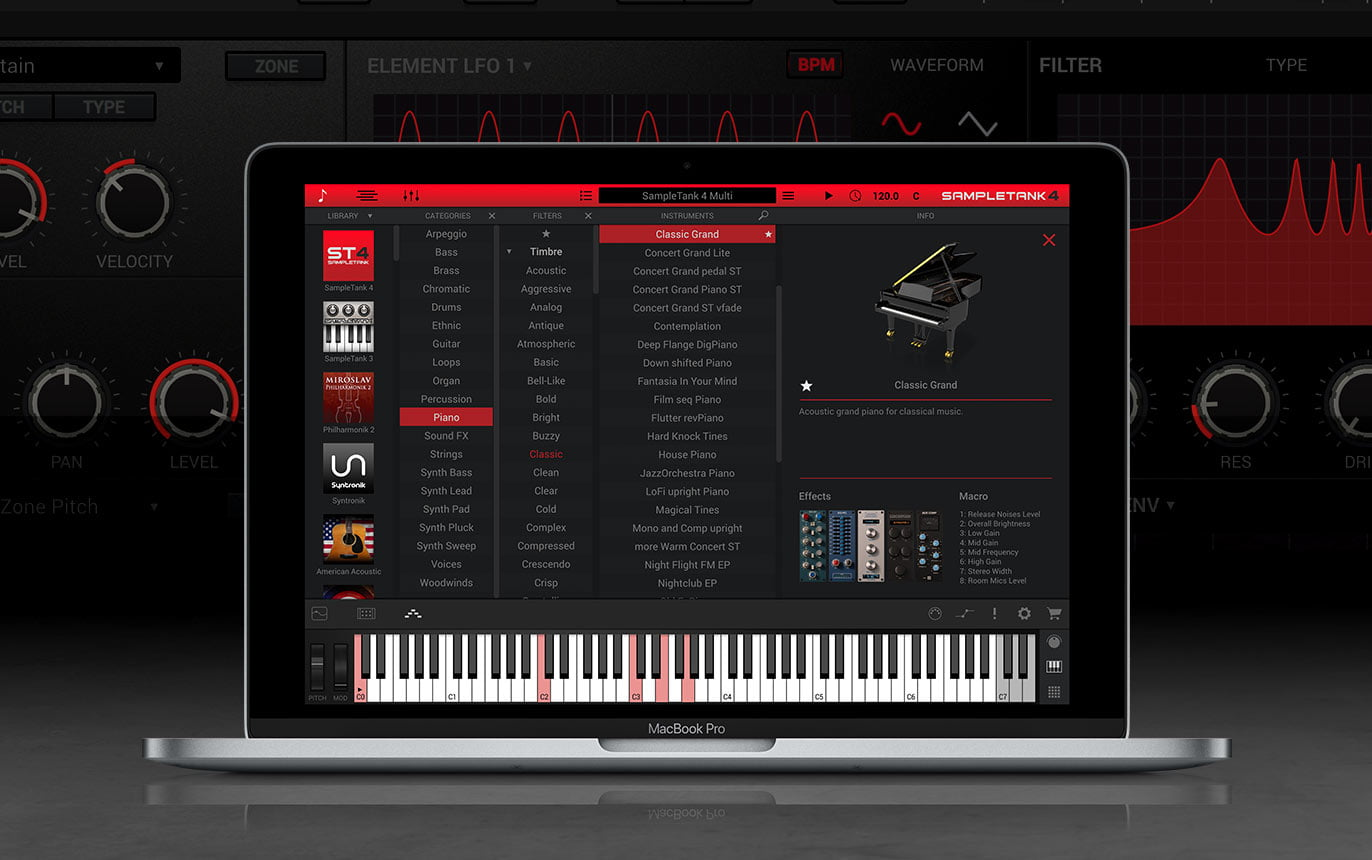 IK Multimedia updates SampleTank music creation workstation to v4.0.8