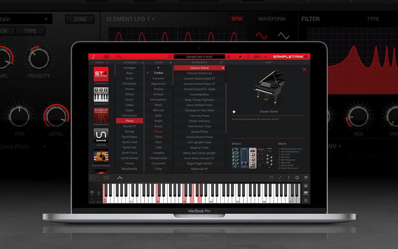 IK Multimedia updates SampleTank music creation workstation to v4.0.8