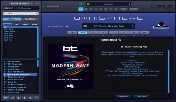 ILIO BT Modern Wave for Omnisphere