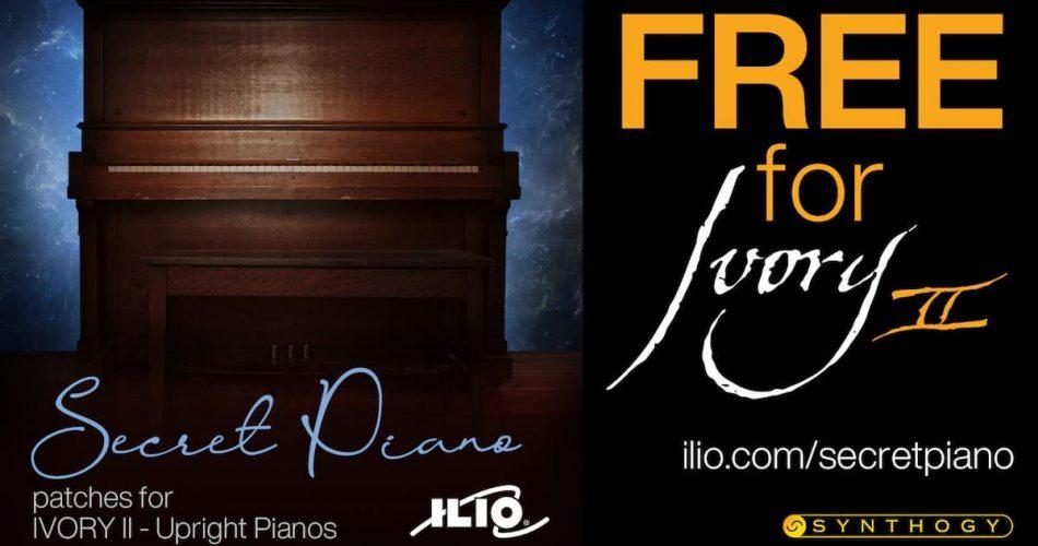 ILIO Secret Piano for Ivory II Upright Pianos
