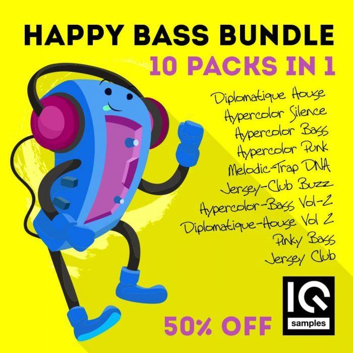 IQ Samples Happy Bass Bundle