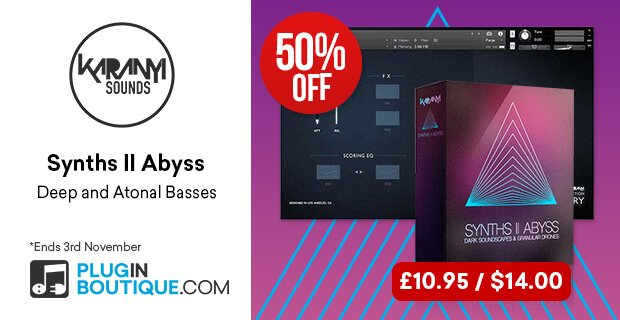 Karanyi Sounds Synths II Abyss Sale