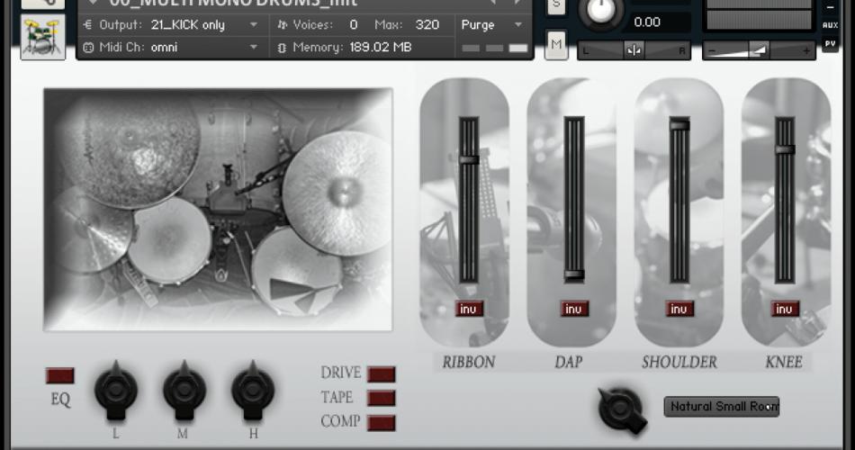 Loops de la Creme Multimono Drums