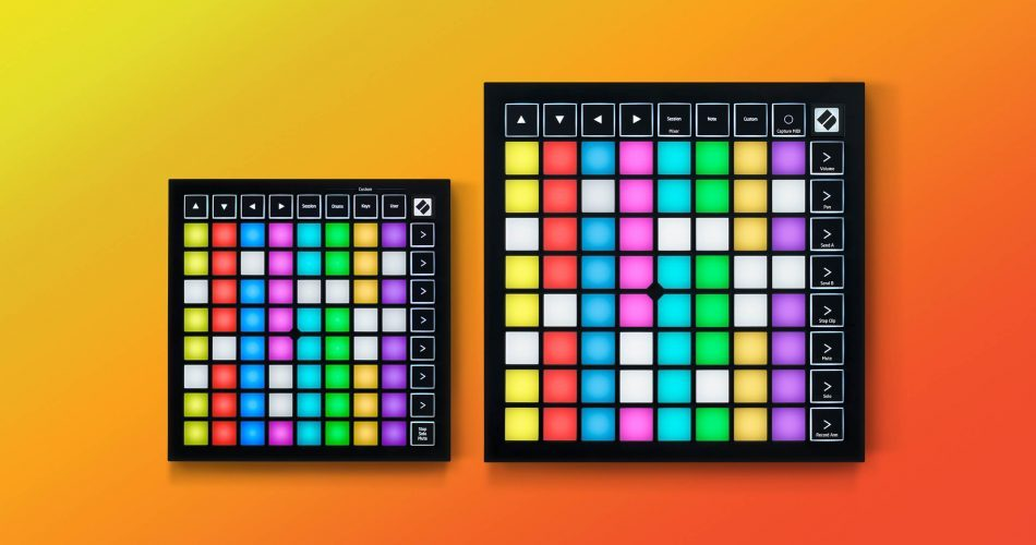 Novation Launchpad X and Launchpad mini mk3
