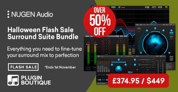 Nugen Audio Halloween Flash Sale
