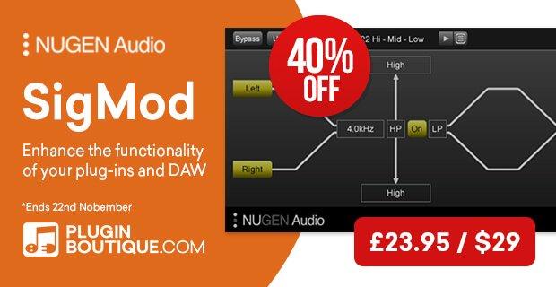 Nugen Audio SigMod update