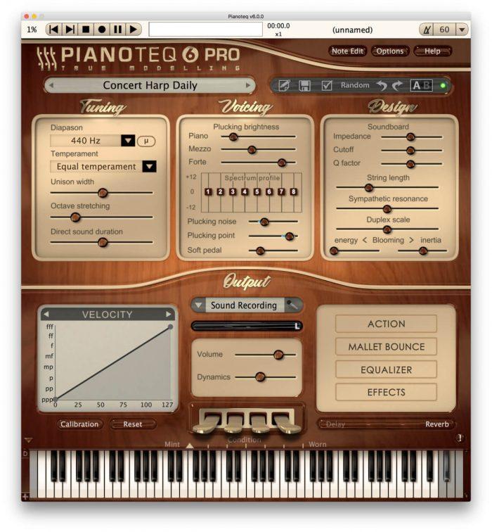 Pianoteq Harp