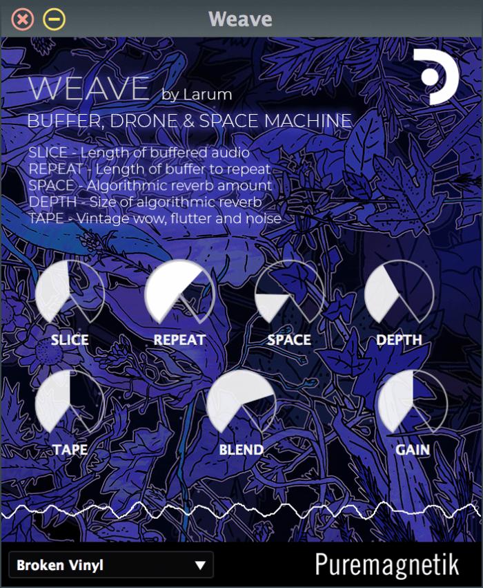 Puremagnetik Weave GUI