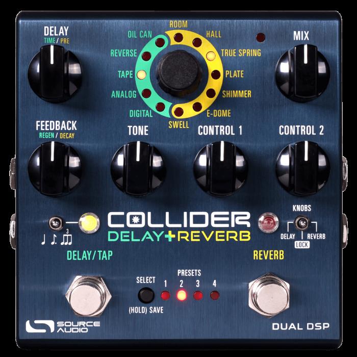 Source Audio Collider Delay Reverb