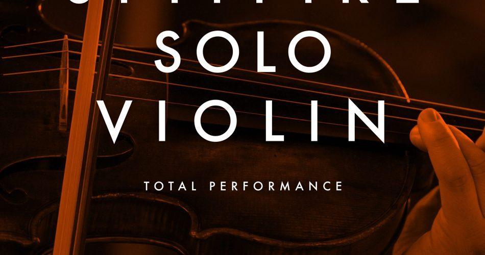 Spitfire Audio Solo Violin artwork