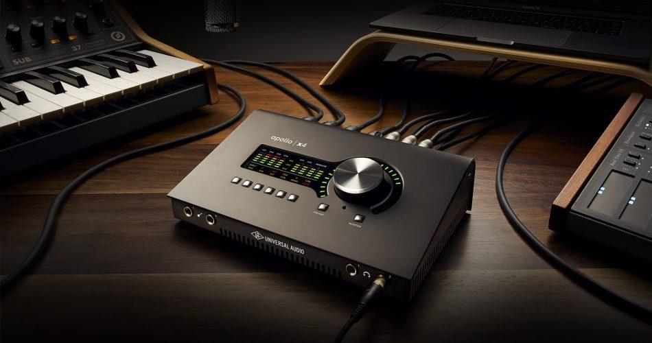 Universal Audio Apollo Twin x4