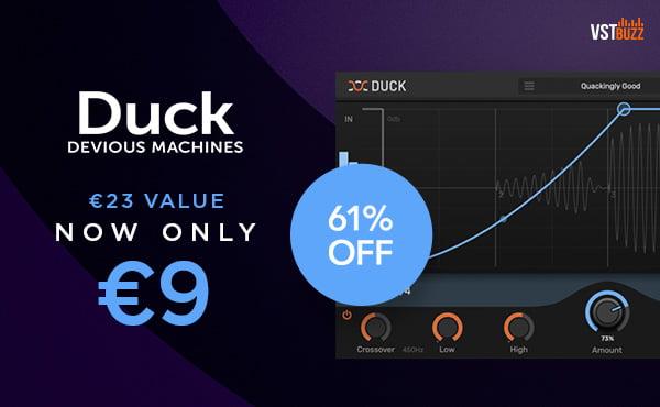 VST Buzz Devious Machines Duck