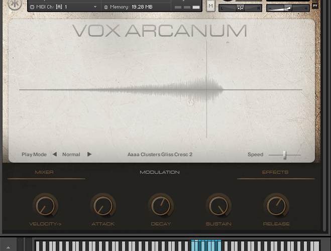 VST Buzz Vox Acranum