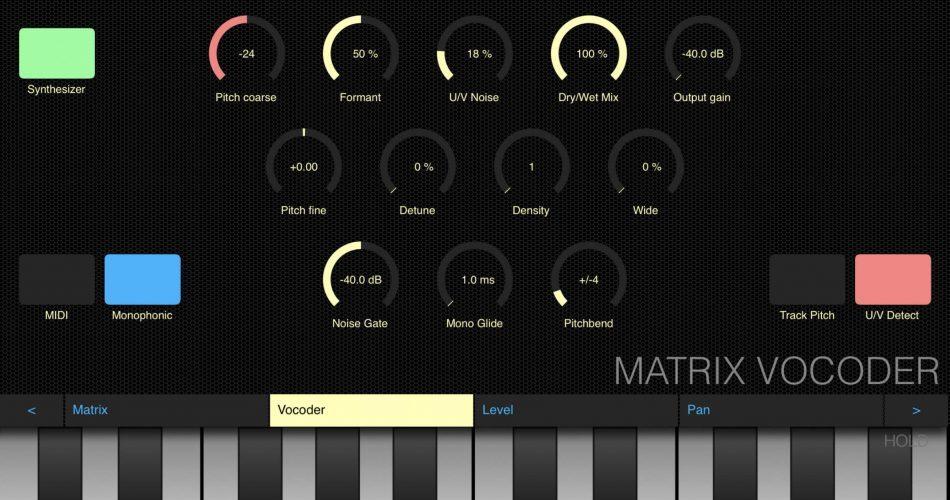 VirSyn Matrix Vocoder iOS