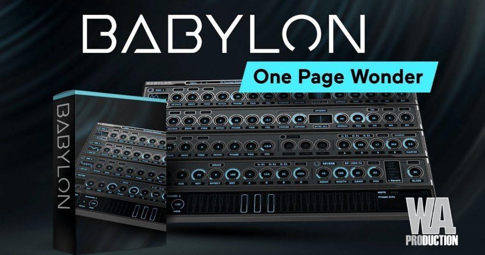 WA Production Babylon